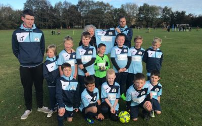 Sponsoring a local under 9's football team