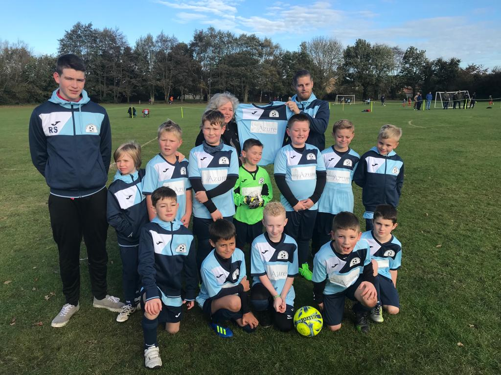 Under 9's football team from King's Lynn